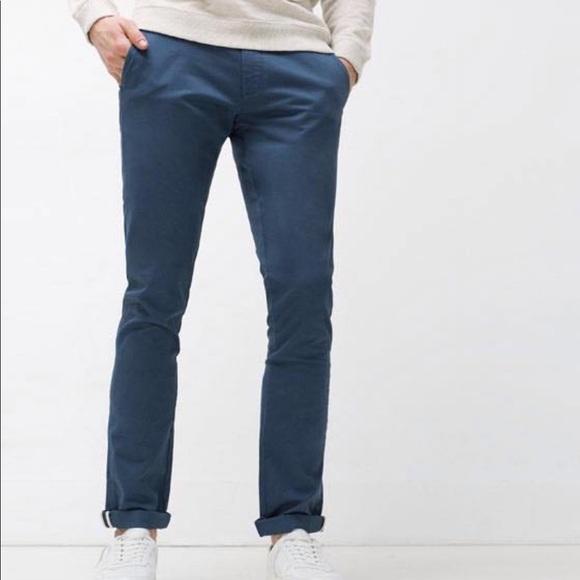 9bfedf4de1 Zara Men's Slim fit chino pants